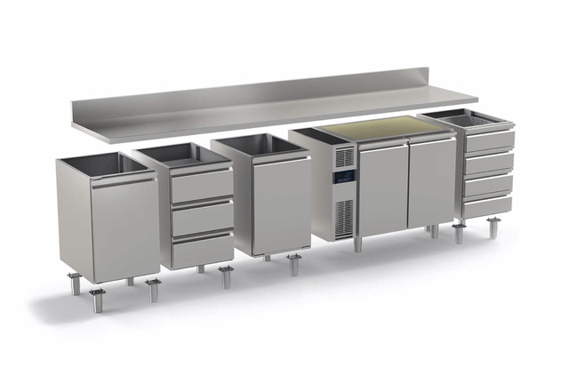 personalizzazione tavolo refrigerato daiquiri